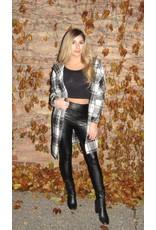 LEXI DREW Plaid Hood Jacket