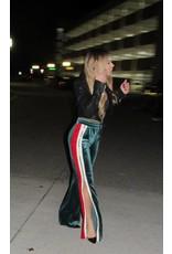 LEXI DREW Velvet Stripe Pant