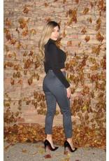 LEXI DREW Check Skinny Pants