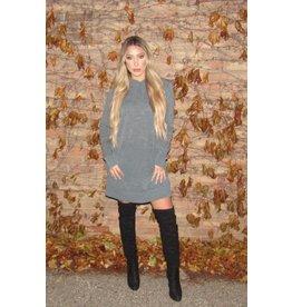 LEXI DREW Hoodie Dress
