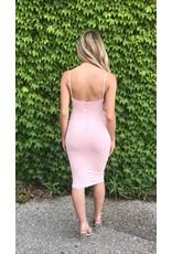 LEXI DREW Lace Up Dress