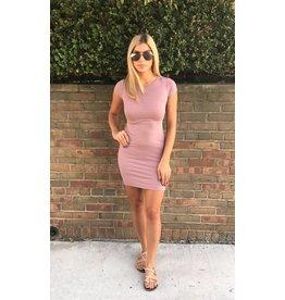 LEXI DREW Short Sleeve Dress