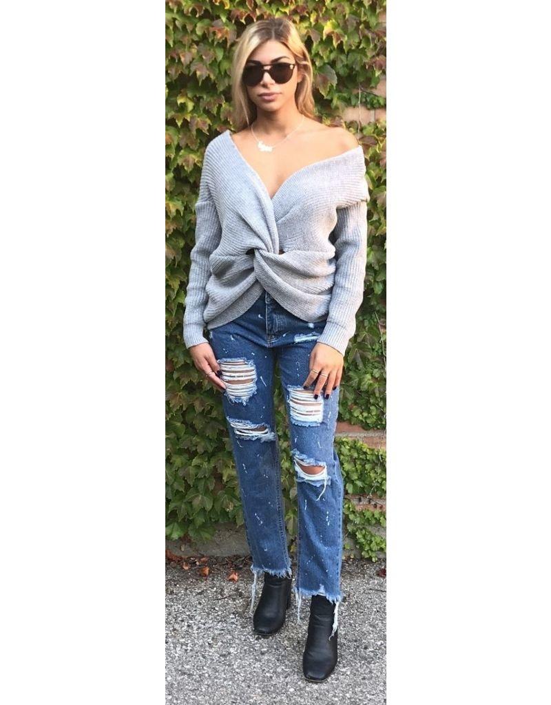 LEXI DREW 661 Splatter Jeans