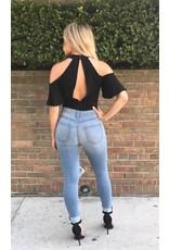 LEXI DREW Ruffle Bodysuit