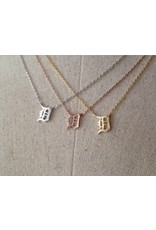 "Ace DETROIT ""D"" NECKLACE"