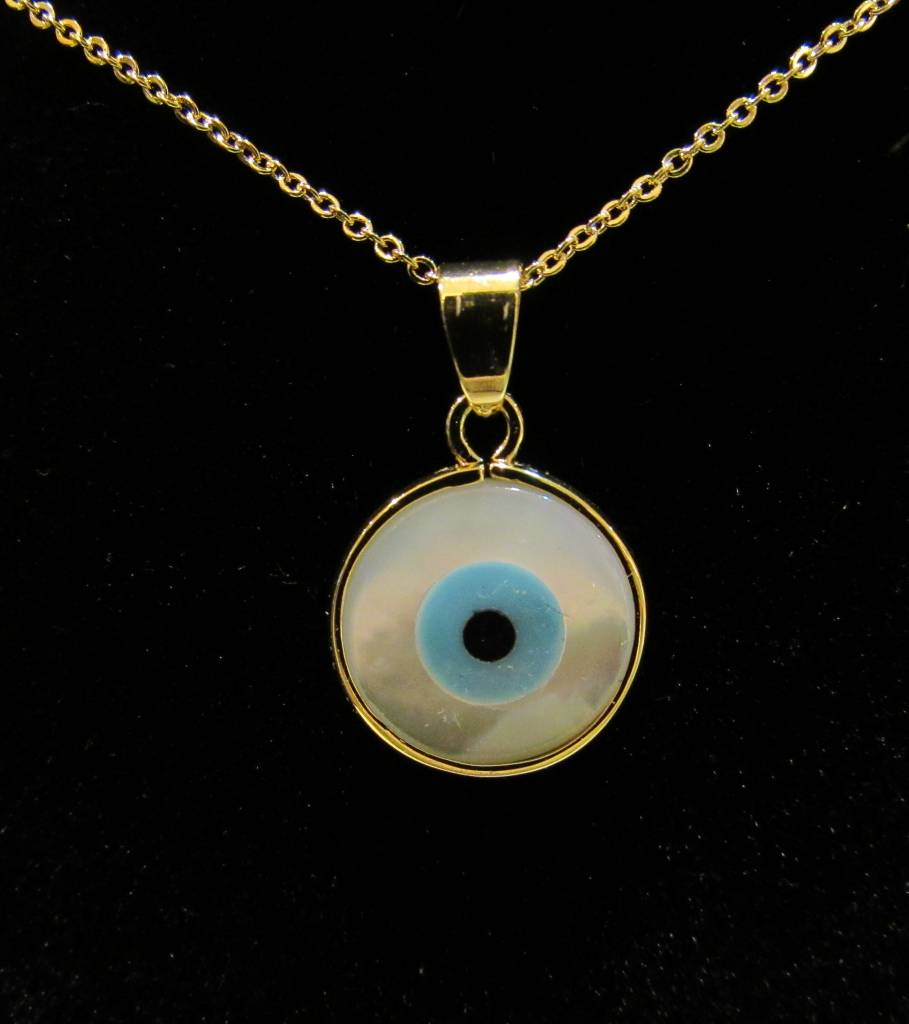 Evil Eye MOP Necklace