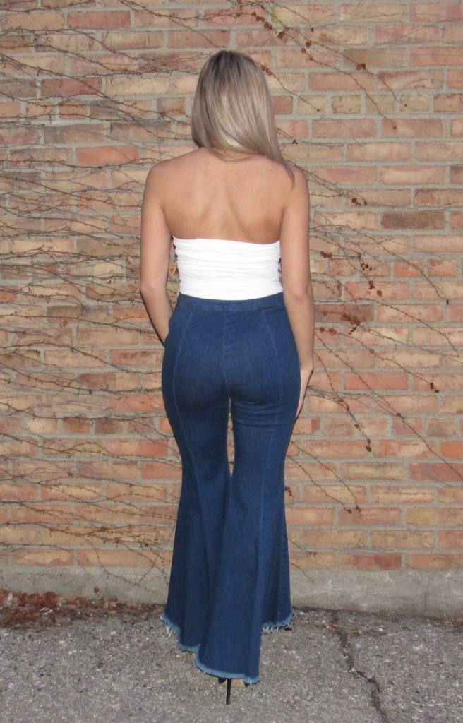 LEXI DREW Flared High Jean