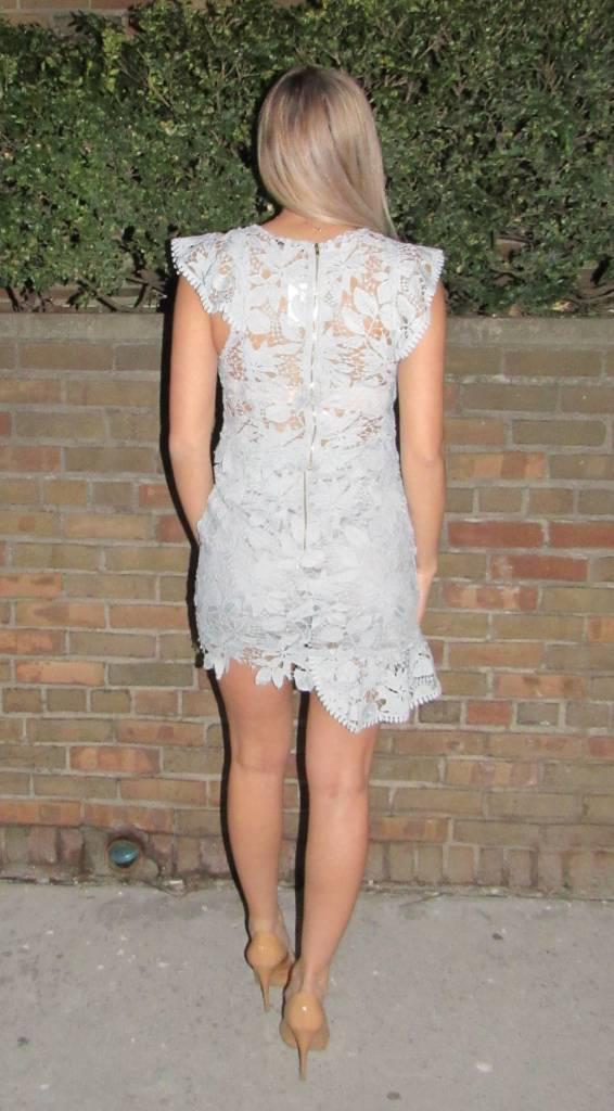 LEXI DREW Lace Skirt Set