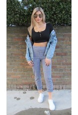 LEXI DREW Ribbed Crop