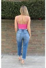 LEXI DREW Velvet Bodysuit