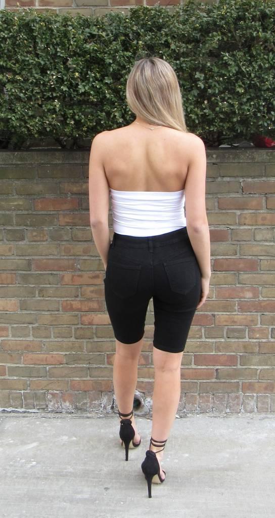 LEXI DREW Lace Up Shorts