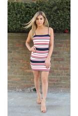 LEXI DREW Stripe Tank Dress