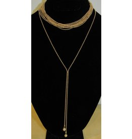 LEXI DREW Ball Chain Choker 2pc Set
