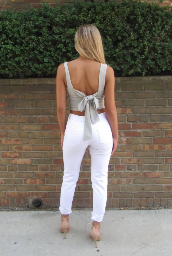 Tie Back Top