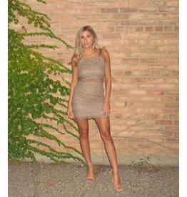 LEXI DREW Lace Tie Dress