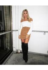 LEXI DREW HW Cord Skirt