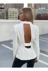 LEXI DREW Backless Blazer