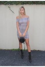 LEXI DREW Plaid Dress