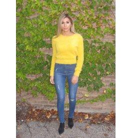 LEXI DREW Fuzzy Sweater