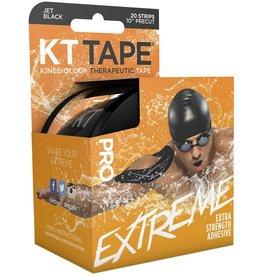 "KT Tape KT Tape Pro Extreme 20 Strips Precut 10"" Black"