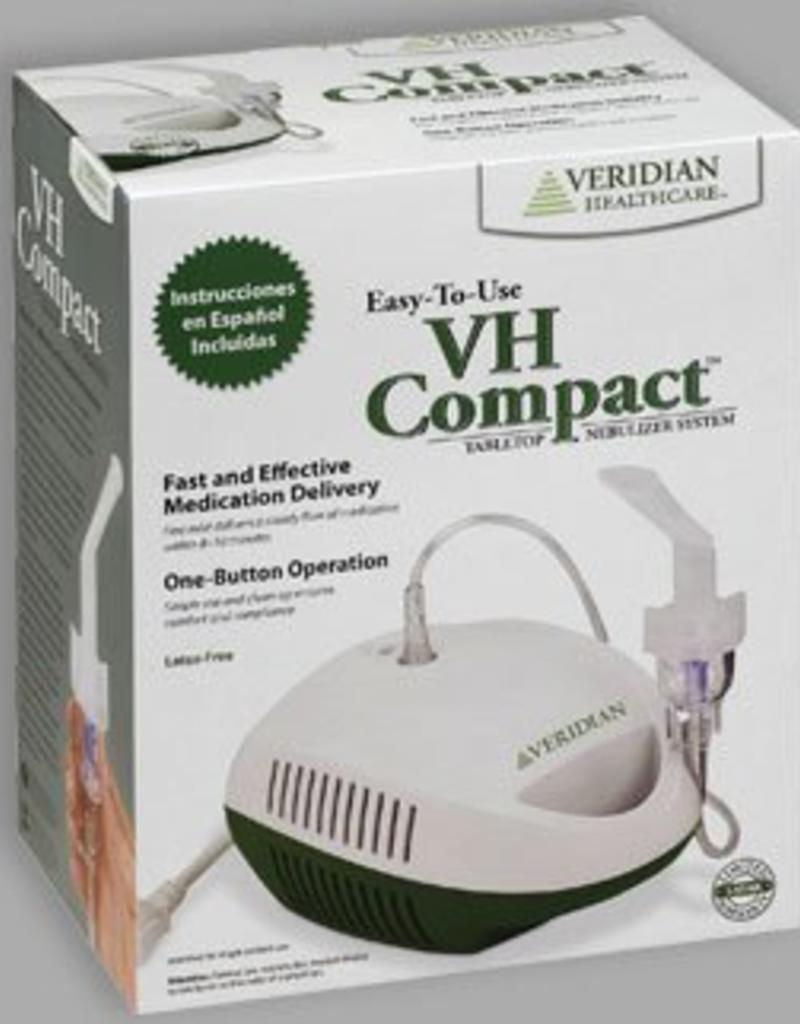 Veridian Healthcare Veridian Healthcare Compact Tabletop Mini-Compressor Nebulizer