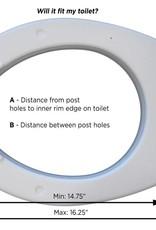 Nova Nova Toilet Seat Riser, Elongated