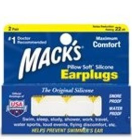 Oaktree Mack's Pillow Soft Earplugs (2 pair/pk)