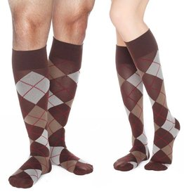 Dr. Comfort Dr. Comfort Argyle Knee High Compression