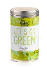 For Tea's Sake For Tea's Sake, Go Green Jasmine Tea Blend Tea Bags (1.7OZ/46.8G)