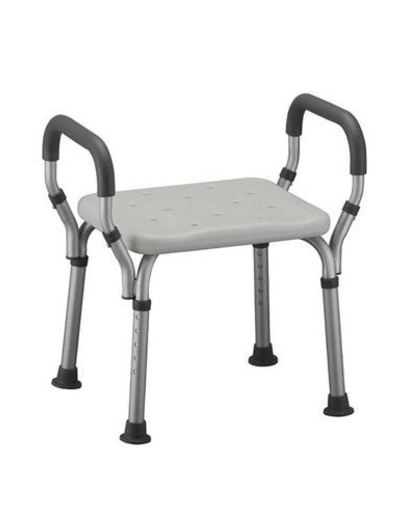 Nova Bath Seat No Back With Arms - Active Living, LLC dba GetActive ...