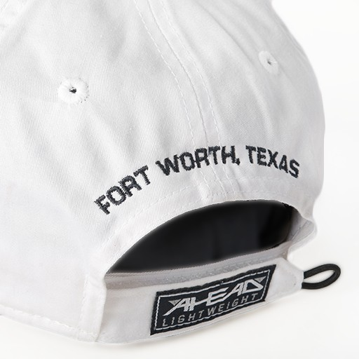 Hats BASEBALL HAT, WHITE WITH NAVY