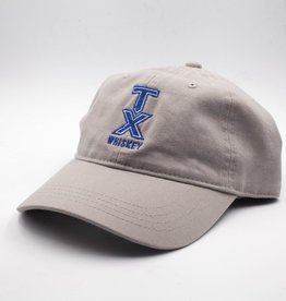 Hats BASEBALL HAT, GRAY WITH BLUE