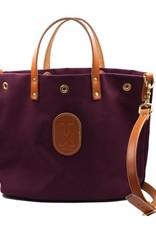 Bags MINI TOTE BAG, BURGUNDY