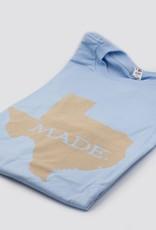 T Shirts TX MADE, S, POWDER BLUE