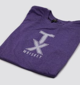 T Shirts TX WHISKEY, XXL, PURPLE