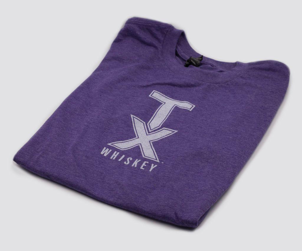 T Shirts TX WHISKEY, XXL, PURPLE