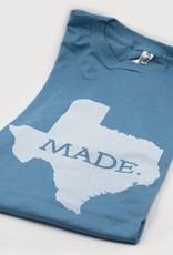 T Shirts TX MADE, M, SLATE