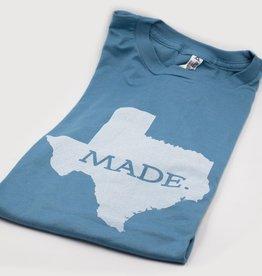 T Shirts TX MADE, S, SLATE