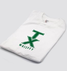 T Shirts TX WHISKEY, L, WHITE/GREEN