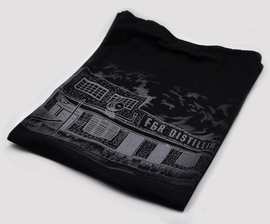 T Shirts F&R, XXL, BLACK