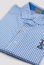 Golf Shirts POLO, XL, BLUE/WHITE