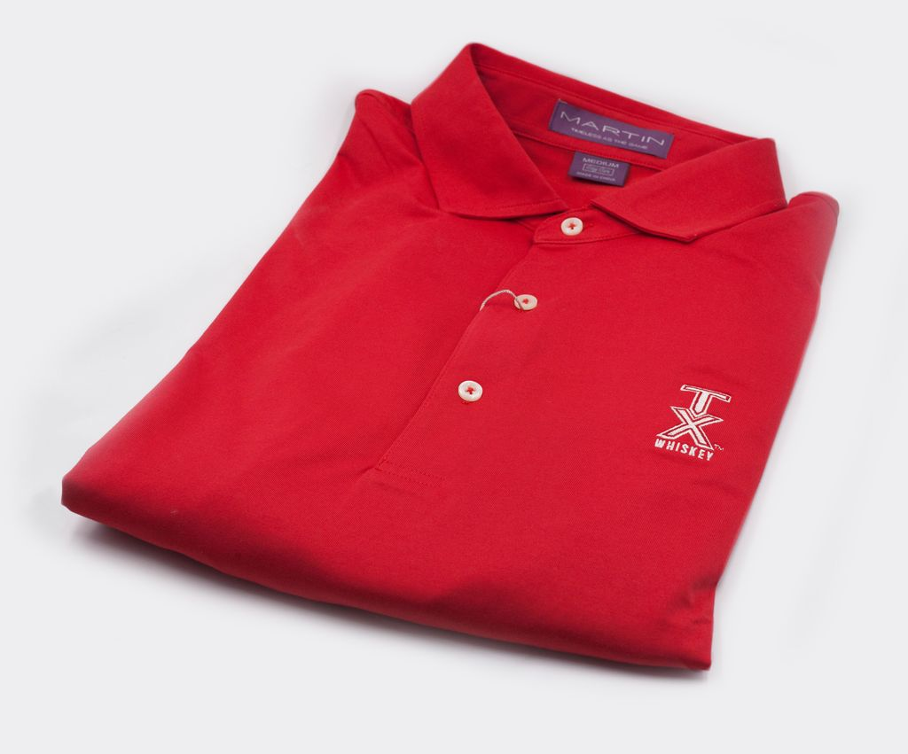 Golf Shirts POLO, XL, RED