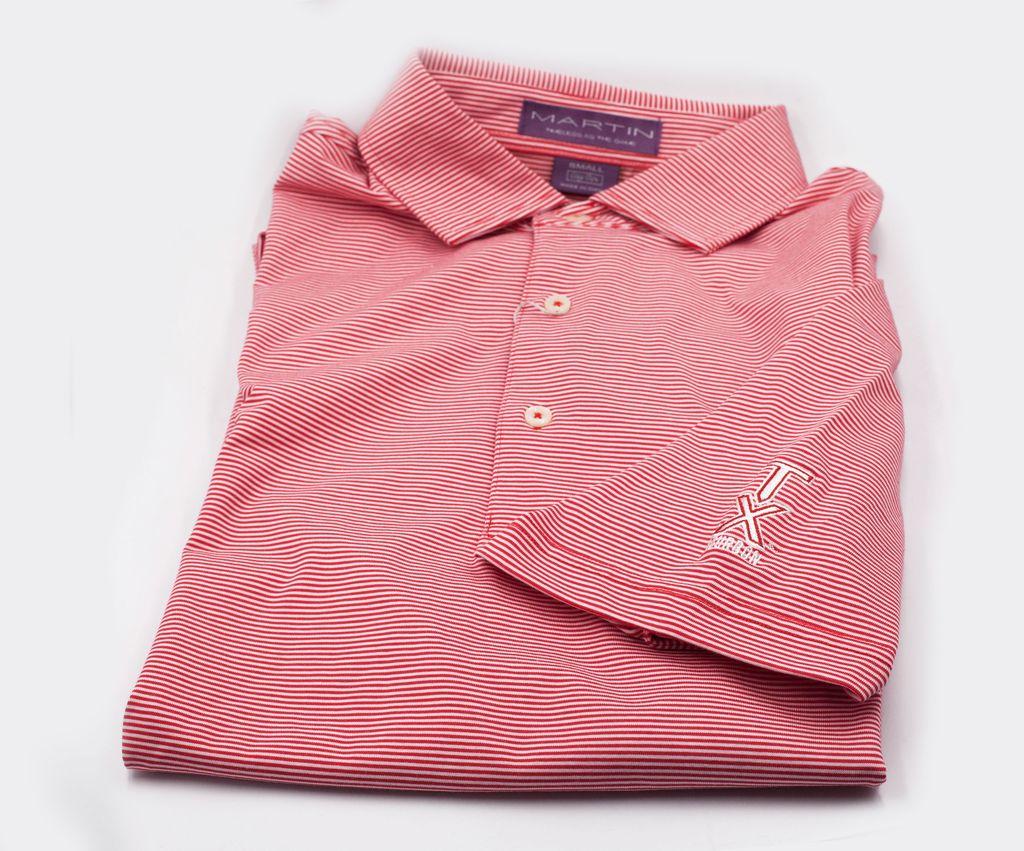 Golf Shirts POLO, XL, RED/WHITE