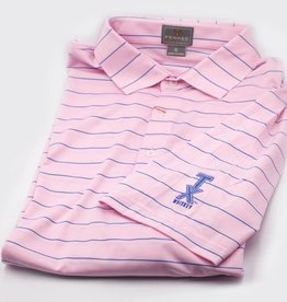 Golf Shirts POLO, XXL, PINK/BLUE
