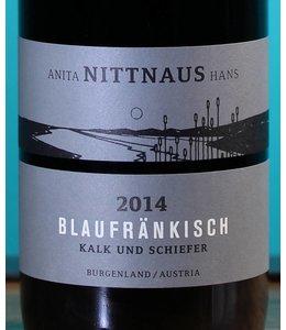Anita & Hans Nittnaus, Blaufränkisch Kalk und Schiefer 2014