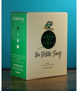 Hugues Beaulieu, Picpoul de Pinet La Petite Frog 2016 (3L bag in box)