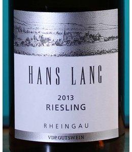 Hans Lang Riesling Rheinau 2013
