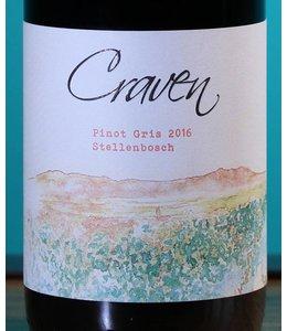 Craven Wines, Stellenbosch Pinot Gris 2016