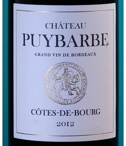 Chateau Puybarbe Cotes-de-Bourg 2012