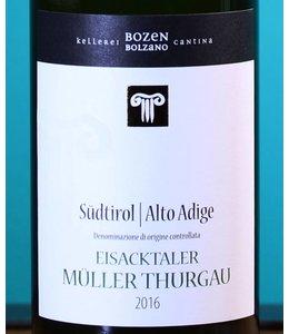 CANTINA BOLZANO Südtirol Alto Adige Muller Thurgau 2016
